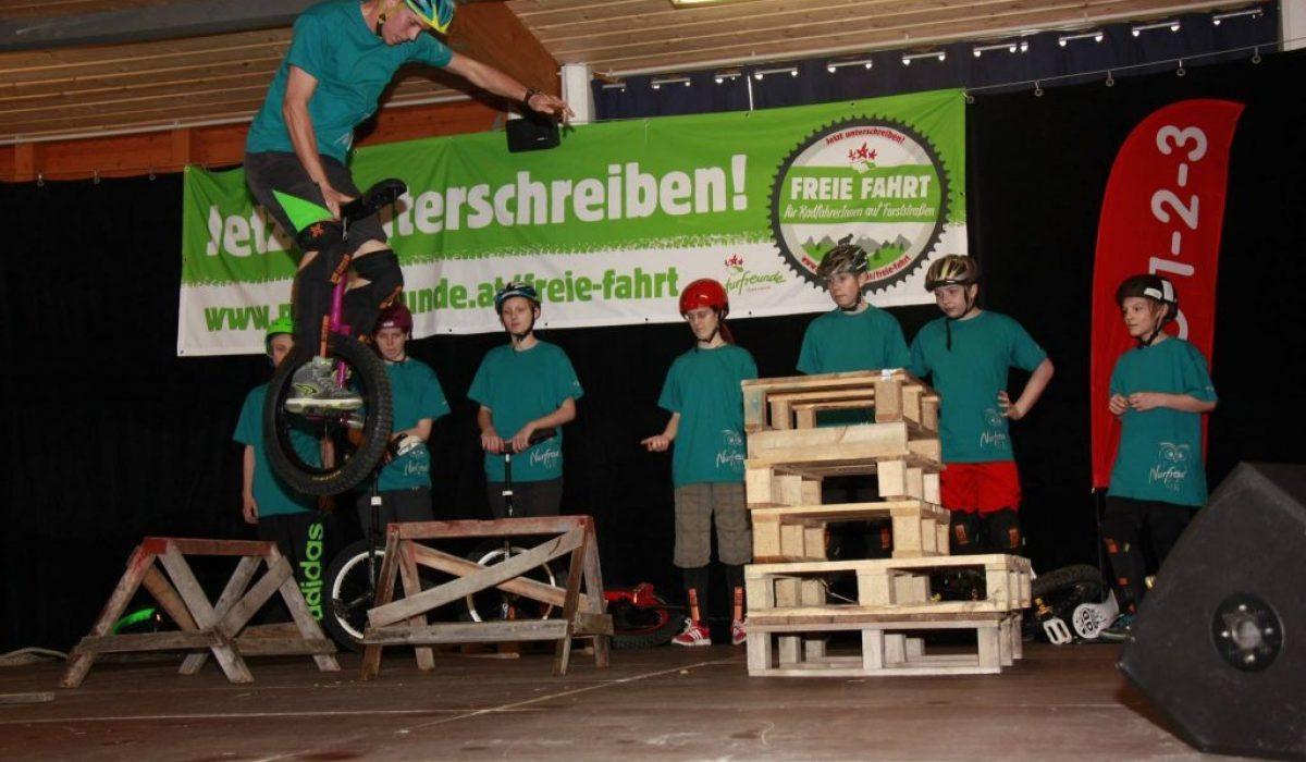 Einradshow Aktionstag